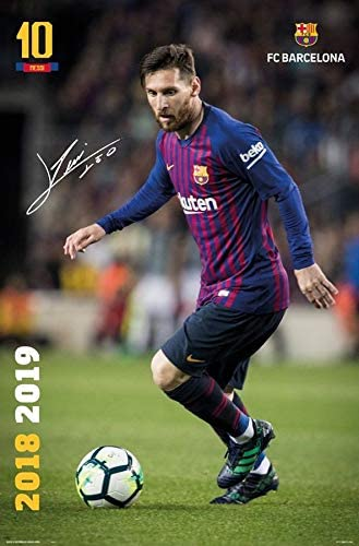 MOTIVATION4U Lionel Messi Lionel Andr/és Messi Cuccittini an Argentine Professional Footballer Best Player in The World 12 X 18 inch Poster
