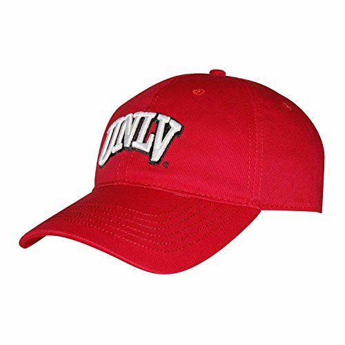 (NCAA UNLV Rebels Adult Unisex Epic Washed Twill Cap  Adjustable Size)