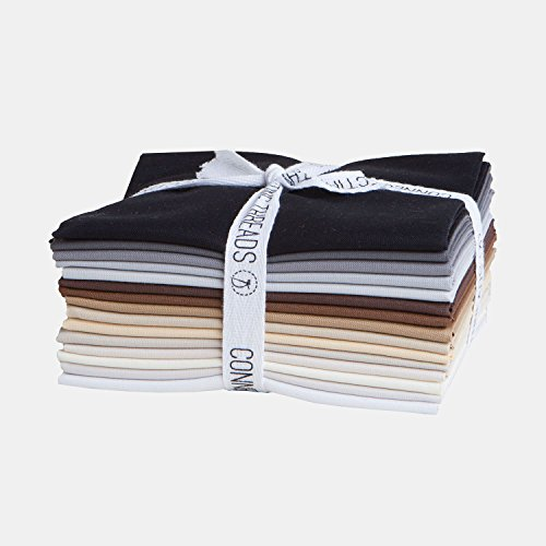 Connecting Threads Color Wheel Premium Precut Fabric Bundle (Rocky Mountain Fat Quarters)