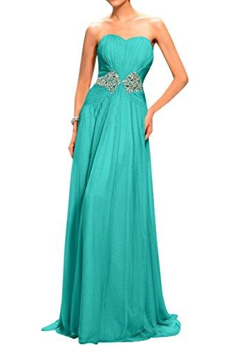 Missdressy - Vestido - plisado - para mujer Mintgruen