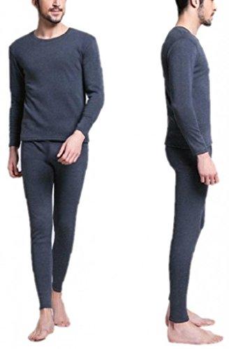 Men's Thermal Underwear Set Top & Bottom Fleece Lined