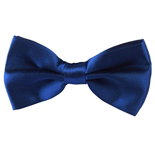 Men's Bow Ties for Wedding Party,Classic Pre-Tied Satin Formal Tuxedo Bowtie Business Necktie (J)]()