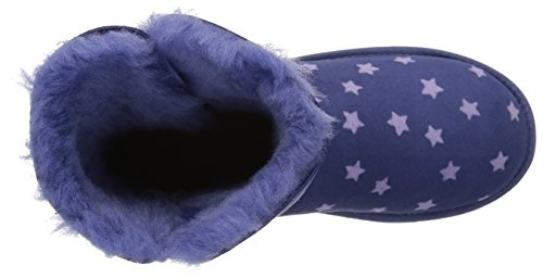 UGG Girls K Bailey Button II Stars Pull-On Boot, Nocturn, 1 M US Little Kid by UGG (Image #8)