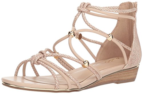 ALDO Women's MURIELE Flat Sandal, Light Pink, 6 B US
