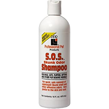 PPP Pet Skunk Odor Shampoo, 16-Once