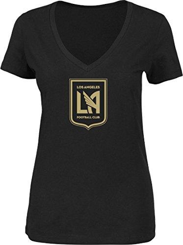 omen's Team Logo T-Shirt Black (Medium) (Black Team Logo T-shirt)
