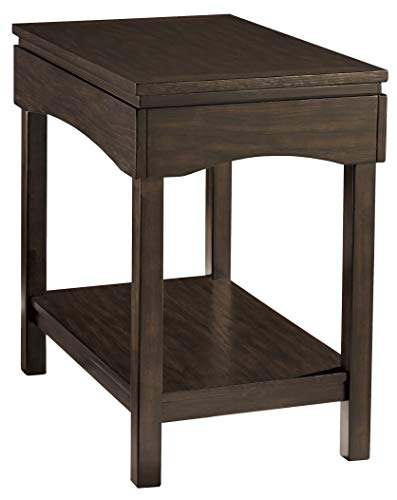 (Ashley Furniture Signature Design T327-7 Haddigan Chair Side End Table Brown)