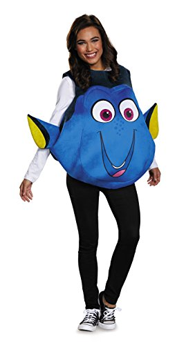 [10087XLarge 42-46 Adult Finding Dory Fish Costume] (Dory And Nemo Costumes)