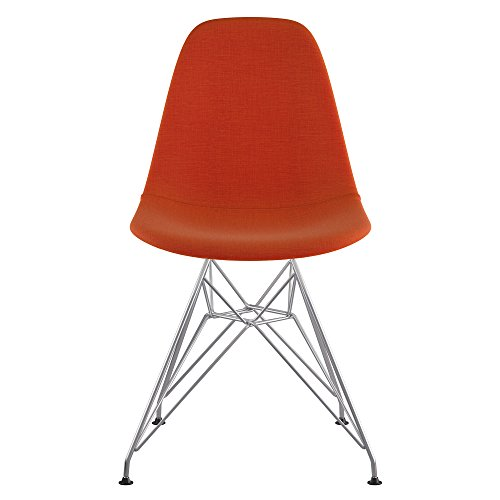 NyeKoncept 331004EM1 Mid Century Eiffel Side Chair, Lava Red from NyeKoncept