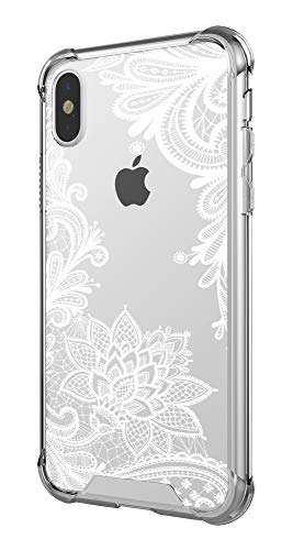 Case for iPhone Xs Max,Cutebe Shockproof Series Hard PC+ TPU Bumper Protective Case for Apple iPhone Xs Max 6.5 Inch 2018 Release Crystal