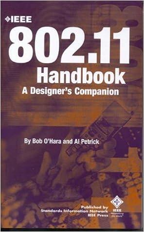 Book The IEEE 802.11 Handbook: A Designer's Companion by Bob O'Hara (1999-12-01)