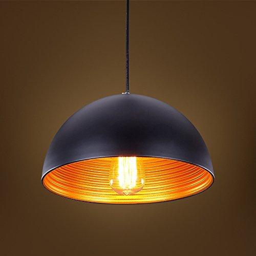 Glighone Industrial Vintage Pendant Light Retro Ceiling