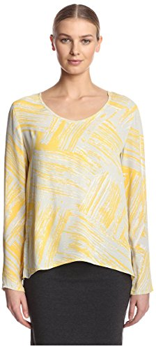 waverly-grey-womens-charlie-printed-blouse-yellow-xs