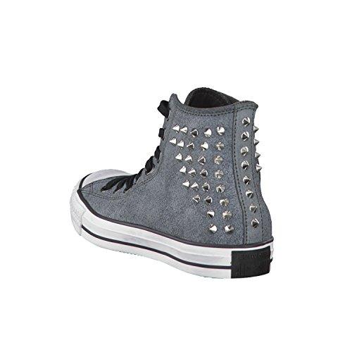 Converse - Zapatillas de Piel para mujer Gris gris 42