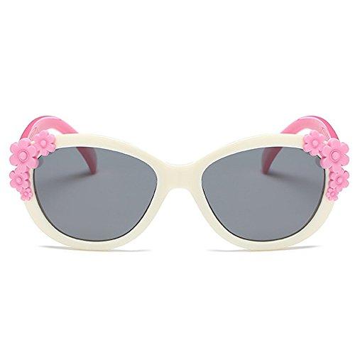 Fantia Comfortable Girls Sunglasses Children eyeglass Polarized Glasses - Young Sunglasses