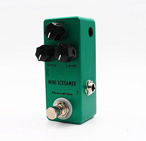 Mosky Mini Screamer Overdrive (TS9 Overdrive) Mini Guitar Effect Pedal Ts9 Tube Screamer Overdrive Pedal