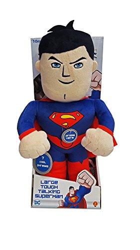 DC Superfriends Large Tough Talking Superman Soft Toy