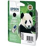 Epson T0501 Cartouche d'encre d'origine Noire S020093 et S020187