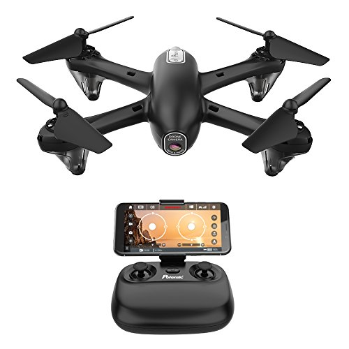 Cheap Potensic Drone with Camera Live Video, U47 HD Wi-Fi FPV RC Drone Camera, 2.4Ghz 6-Axis Gyro Quadcopter – Altitude Hold, One Key Take Off/Landing