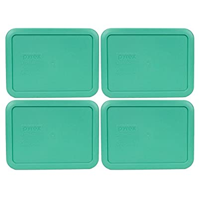 Pyrex 7210-PC Rectangle 3 Cup Storage Lid for Glass Dish