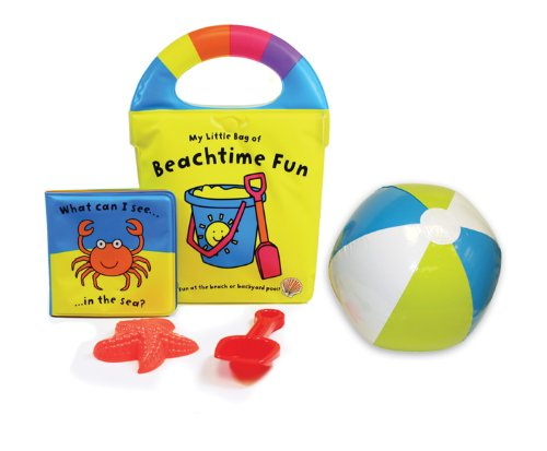 Price comparison product image My Little Bag of Beachtime Fun: Carry-along Bag with Book, Shovel, Plastic Shell and Beach Ball! (My Little Bag Books)