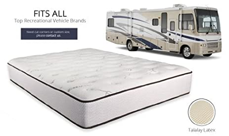 ultimate dreams short king firm rv latex mattress