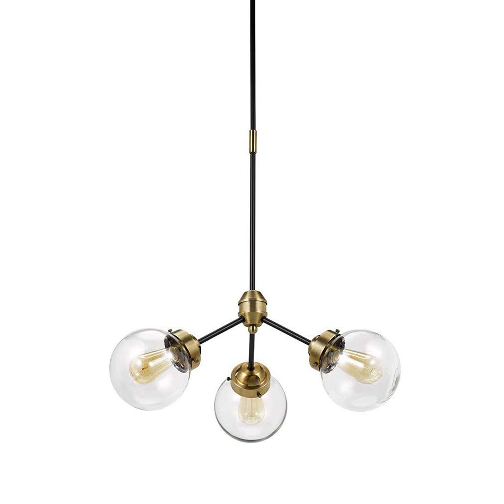 Amazon.com: Rivet Irwin - Lámpara de techo (3 luces, 2 tonos ...
