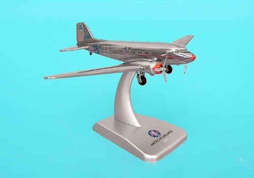 (Hogan Wings 1-200 Commercial Models HG9659-98 American Airlines Dc-3 Die-Cast Metal, Reg. Nc21798)
