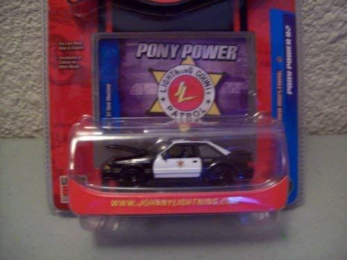 (Johnny Lightning Pony Power R2 1987 Ford Mustang )