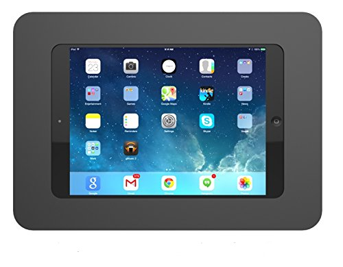 Maclocks 250MROKB Rokku Secure Enclosure Wall Mount for iPad Mini 2 and 4 (Black) by Compulocks