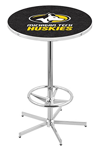 - Holland Bar Stool L216C Michigan Tech University Officially Licensed Pub Table, 28
