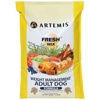 Artemis 133062 Fresh Mix Weight Management Pet Food, 30-Pound