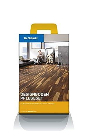 Top Dr. Schutz Designboden Pflegeset für Vinyl-Bodenbeläge PU Reiniger GE64