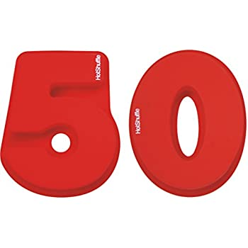 Large Silicone Number 50 Cake Pan Tin Mould 50th Birthday Golden Wedding Anniversary 5 0