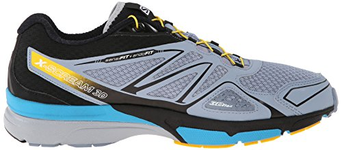 Salomon Men, Sneaker, x-Scream 3D Blue (Stone Blue/Black/Boss Blue)