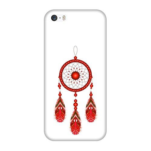 Coque Apple Iphone 5-5s-SE - Attrapeur de rêves rouge