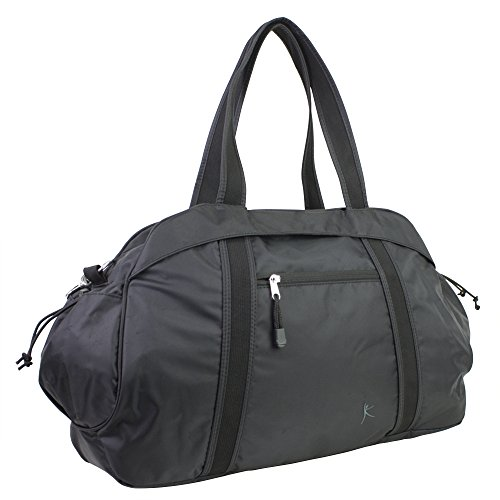 Danskin-Duffel-Bag-Black