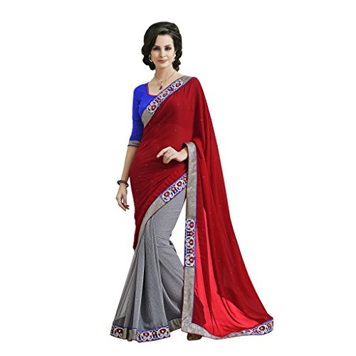 Sarees Jay Party Saree Bollywood Wear Style Bahubali qCwCdO