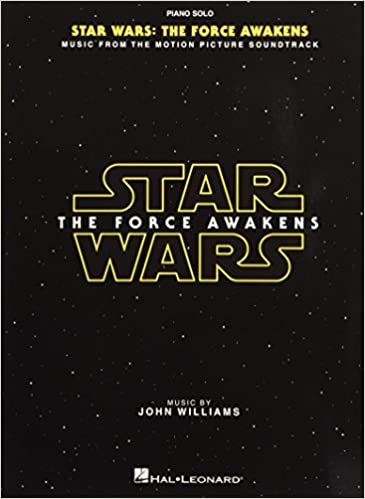 star wars the force awakens piano solo songbook