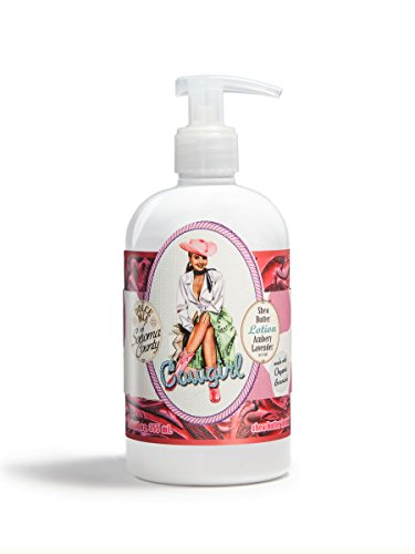 Dolce Mia Sittin' Cowgirl Ambery Lavender Shea Butter Lotion With Organic Botanicals 12 oz.
