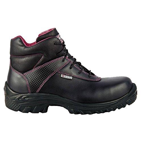 Cofra 63560-000.W39 Evelyne S3 SRC Chaussure de sécurité Taille 39 Noir