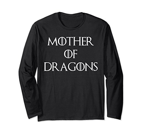 Cute & Unique White Mother of Dragons T-shirt S010165 (White Shirt Dragon Gold)
