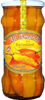 - Belmont Aji Amarillo Entero - Yellow Chili In Brine 20oz.