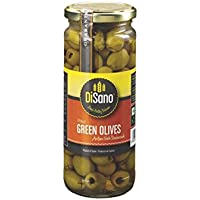Disano Pitted Green Olives, 470g