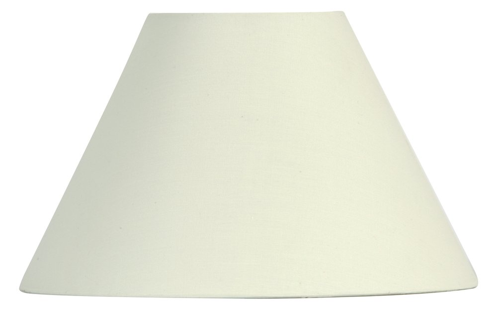 Cream Cotton Coolie Shade: Amazon.co.uk: Lighting