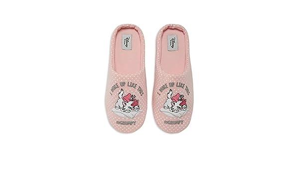 Primark - Zapatillas de Estar por casa de Lona para Mujer Rosa Rosa: Amazon.es: Zapatos y complementos