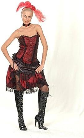 Juguetes Fantasia - Disfraz cabaretera adulto: Amazon.es: Ropa y ...