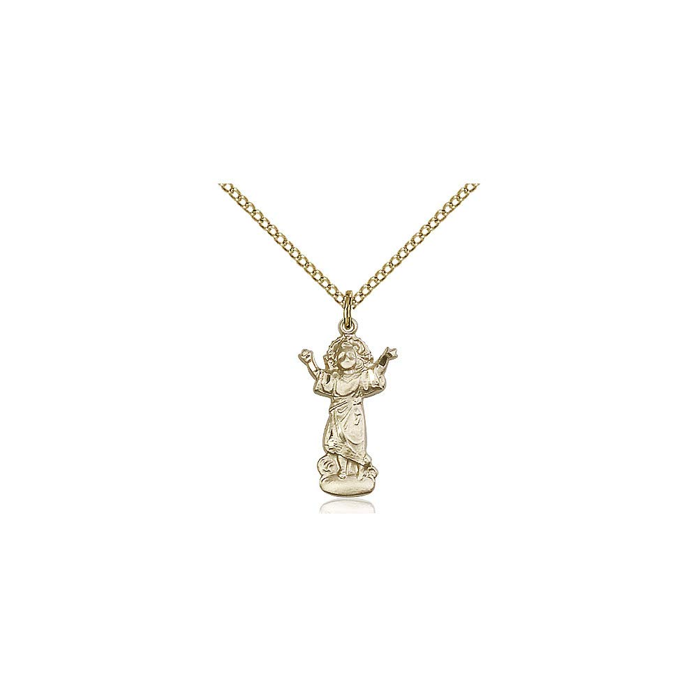 DiamondJewelryNY 14kt Gold Filled Divino Nino Pendant