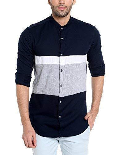 Campus Sutra Men's Casual Shirt Men's Casual Shirts at amazon
