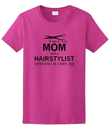 Hairstylist Nothing Scares Ladies T Shirt